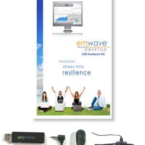 emWave Pro HeartMath USB Hardware Kit