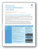 Peak Performance Alive White paper