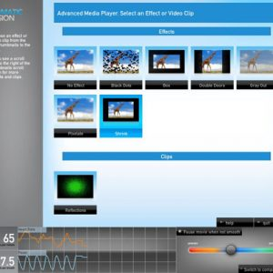 Advanced Media Player Control Panel