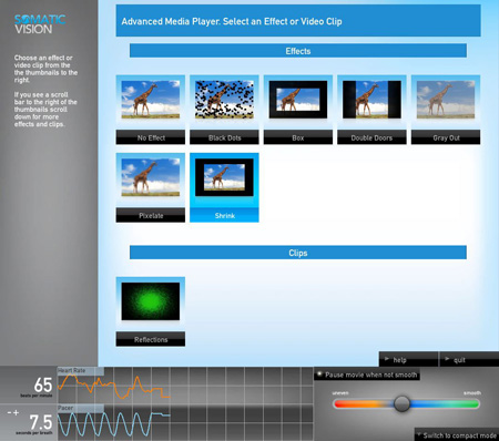 Advanced Media Player Effects Control