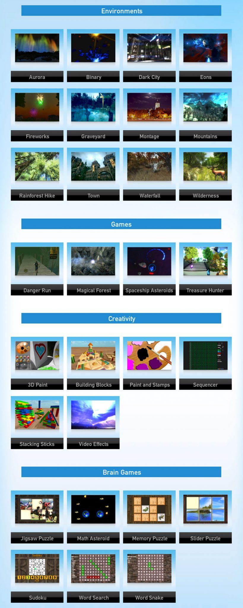 Dreamscapes Games