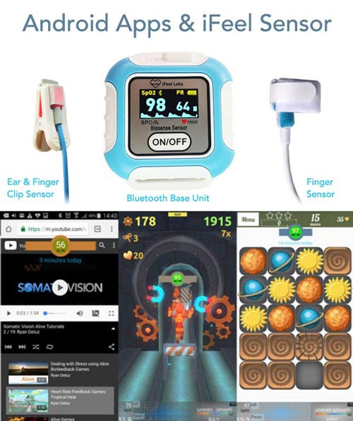 Student Biofeedback Android Apps Complete Game Package