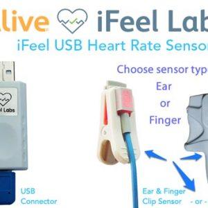 iFeel HRV Biofeedback USB Sensor