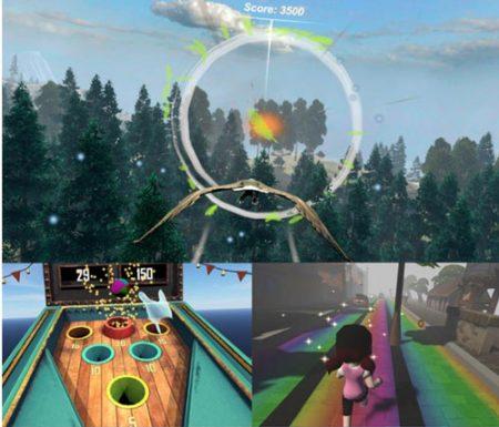 Virtual Reality Biofeedback Games by Somatic Vision -