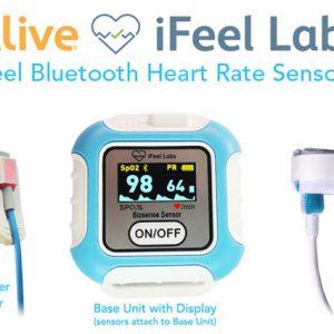 iFeel Bluetooth HRV Biofeedback Sensor